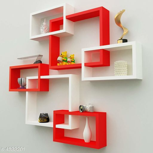 Attractive MDF Wall Shelves
