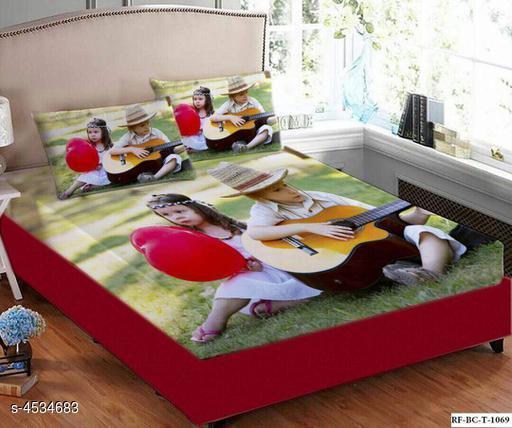 Siya Cotton Printed Double Bedsheets Combo