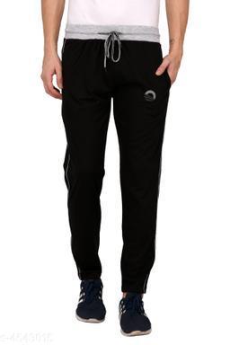 Stylish Men's Cotton Blend Track Pant