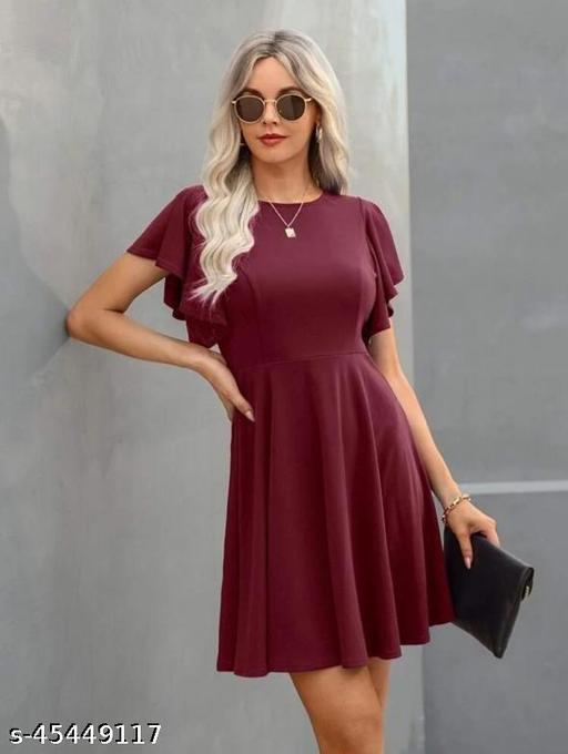 Trendy Graceful Women Dress