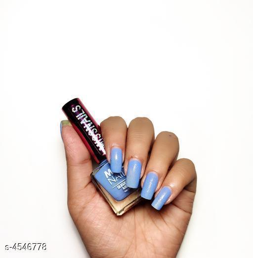 Nails Miss Nail Bluetastic Nail Polish  *Product Name* Miss Nail Bluetastic Nail Polish  *Brand Name* Miss Nails  *Product Type* Nail Polish  *Capacity* 8 ml  *Package Contains* It Has 1 Pack Of Nail Polish  *Sizes Available* Free Size *    Catalog Name: Miss Nails Nail Polish CatalogID_658027 C51-SC1244 Code: 661-4546778-