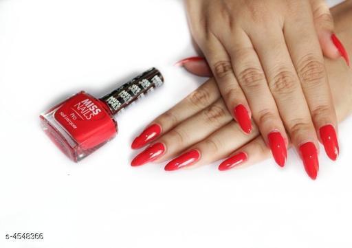 Nails Miss  Nails Nail Polish  *Product Name* Miss Nails Nail Polish  *Brand Name* Miss Nails  *Product Type* Nail Polish  *Capacity* 10 ml  *Shade* Pro37  *Package Contains* It Has 1 Pack Of Nail Polish  *Sizes Available* Free Size *    Catalog Name: Miss  Nails Nail Polish CatalogID_658291 C51-SC1244 Code: 431-4548366-
