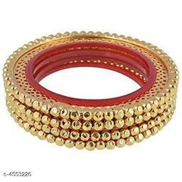 Beautiful Women's Gold Plated Bangles