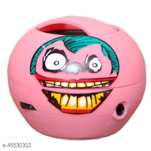 OSAKI JOKER BLUETOOTH SPEAKER PORTABLE FOR CARRYING INDOORS & OUTDOORS ARTIST IMPRESSION FOR FEEL OF MUSIC & MOOD FUSION OF ART & SOUND DESIGN