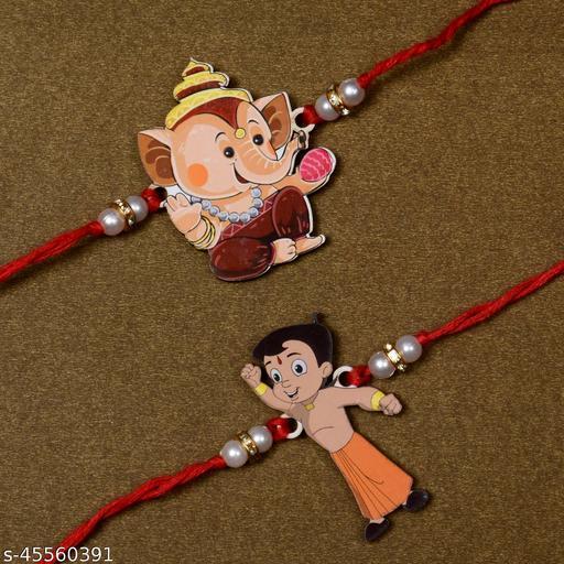 Rakhi For Kids Fancy Rakhi Combo of 2 For Brother Bhaiya Bhai