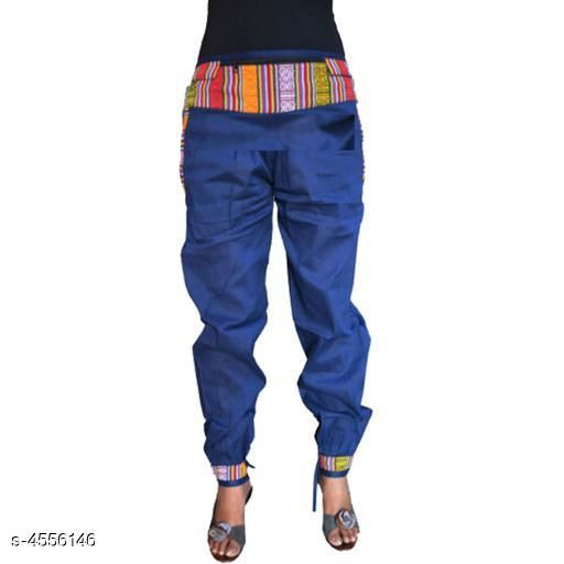 Trousers & Pants Gorgeous Rayon Women's Trouser Pant  *Fabric* Rayon  *Size* Up To 30 in To 40 in (Free size)  *Length* Up To 40 in  *Type* Stitched  *Description* It Has 1 Pieces of Women's Trouser Pant  *Pattern* Solid  *Sizes Available* Free Size, 30, 32, 34, 36, 38, 40 *    Catalog Name: Diva Gorgeous Rayon Women's Trouser Pants Vol 1  CatalogID_659592 C79-SC1034 Code: 903-4556146-