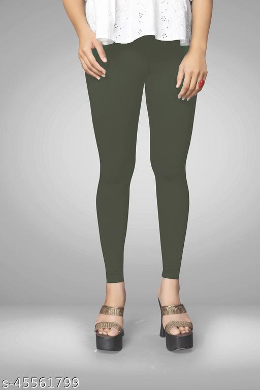 Keshav Srushti Women's unique Colour Cotton Lycra Ankle Length Legging