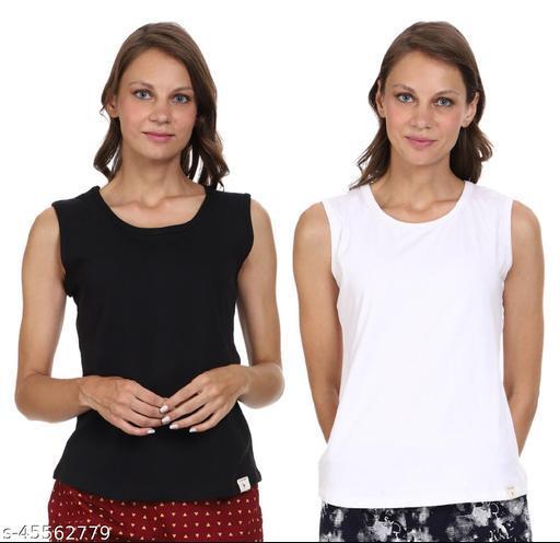 Round Neck Comfortable Sports Camisole Slip,Women Combo Sando