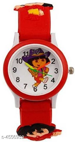 Attractive Kids Rubber Watches