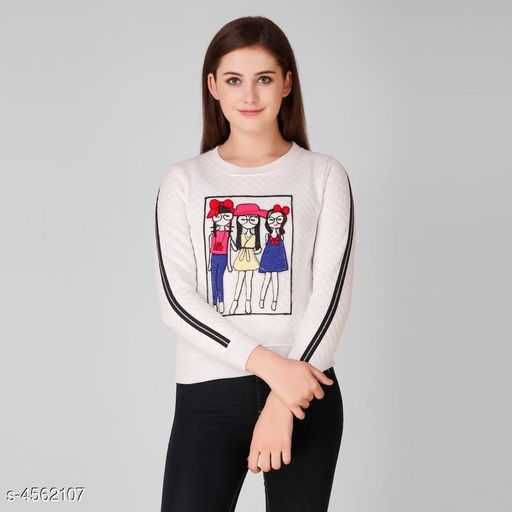 Charvi Ensemble Women Sweatshirt