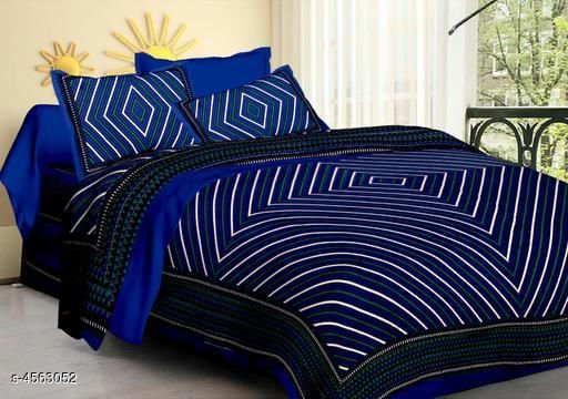 Ria Stylish Cotton 100 in X 90 in Bedsheet