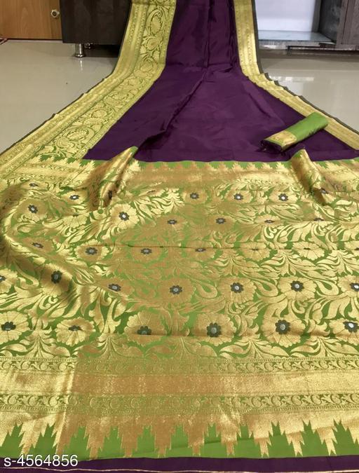 Sia Trendy  Soft Silk Women's Saree