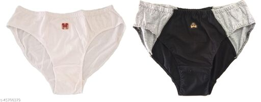 Women Hipster White Cotton Panty (Pack of 2)