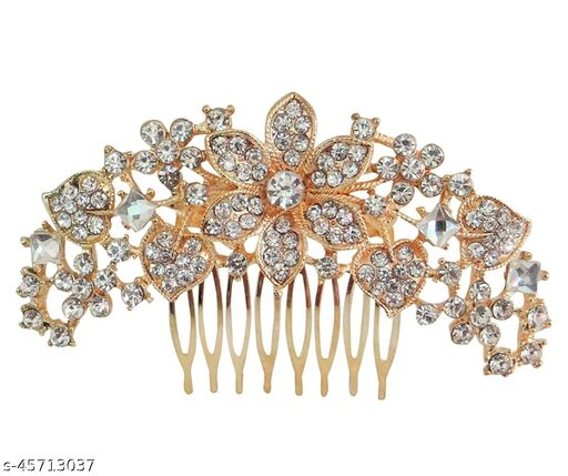 Vogue Hair Accessories Fancy Party Hair Accessory Hair Clip Hair Pin Comb Clip  for Girl and Woman