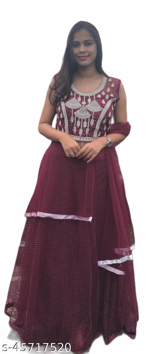 Latest Collection-New-Trendy Wonem Party wear LEHENGA CHOLI
