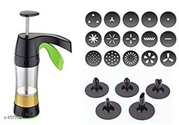 Kitchen Press With 12 Attachments