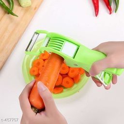 2 In 1 Vegetable Cutter & Peeler