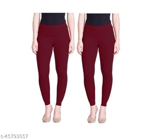 Vardhan Legging Set of 2 Color  Marron Free Size