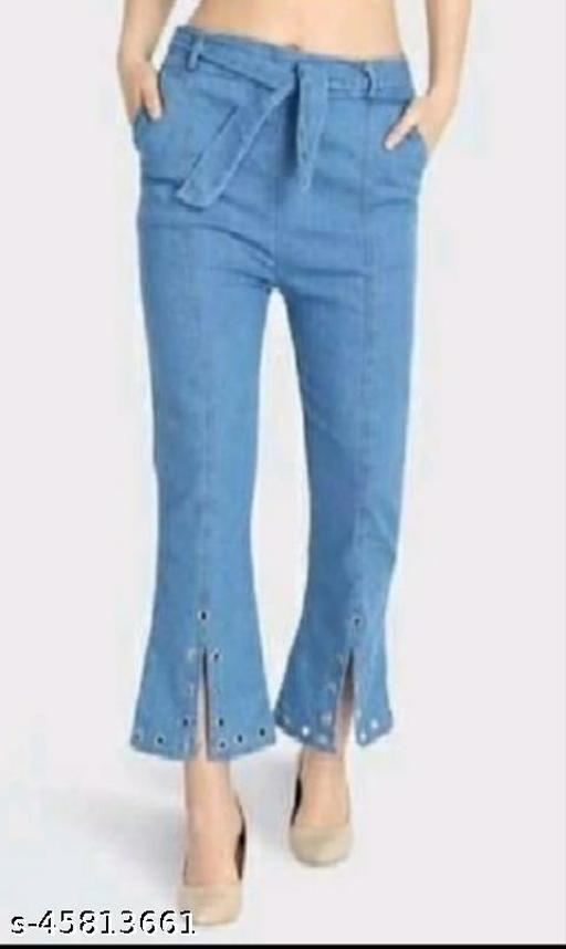 Pretty Feminine Women Jeans