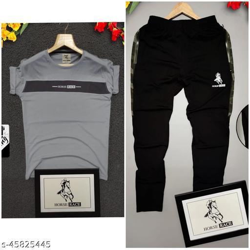 Purvi creation Presenting Man tarck pant with tshirt