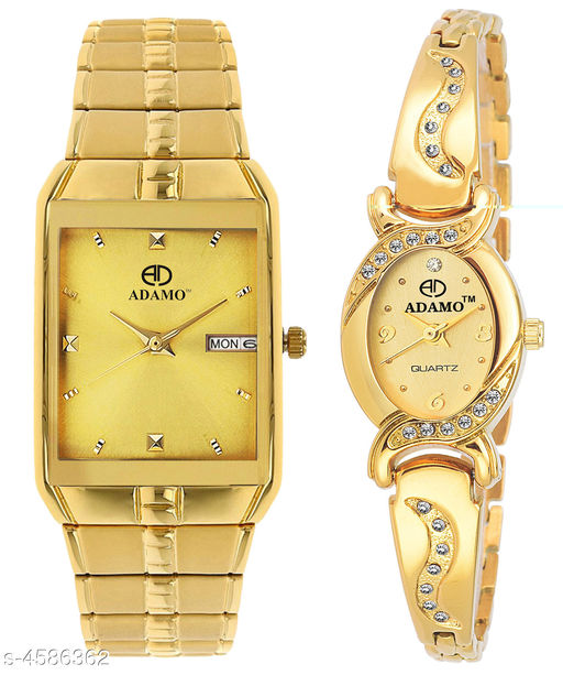 Stylish Couple Watches