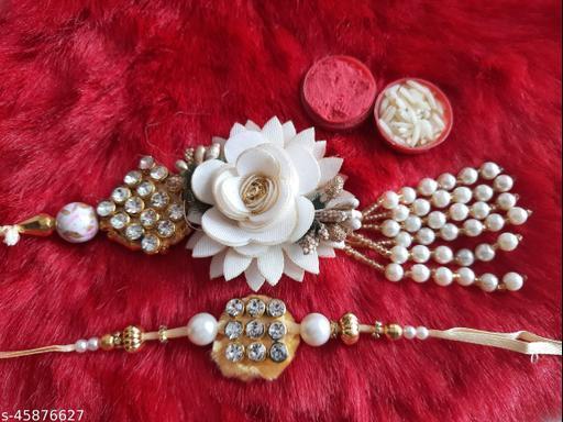 Shimmering Graceful Rakhi