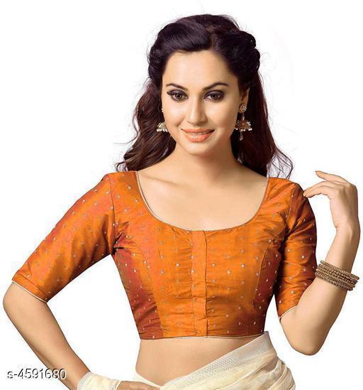 Janasya Taffeta Silk Women's Blouse
