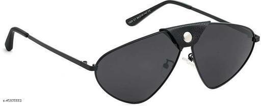 Poloshades Black Unisex Oversize Sunglasses