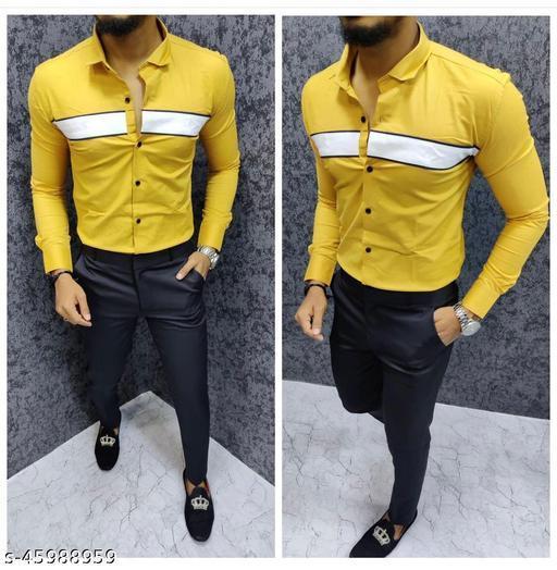Classy Modern Men Shirt Fabric