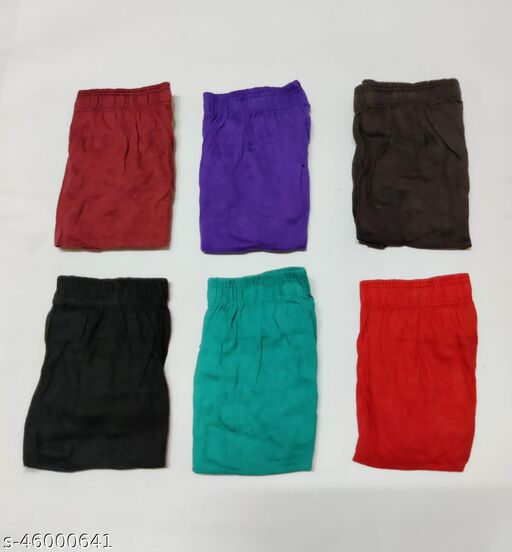 Women Hipster Multicolor Cotton Panty (Pack of 6)