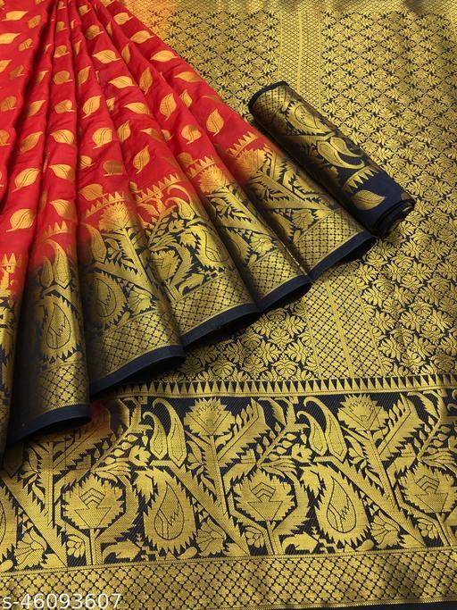Aggam Superior Banarasi Silk Saree