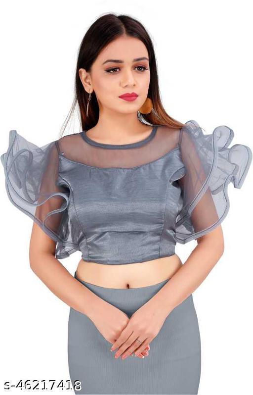 fancy freel net blouse