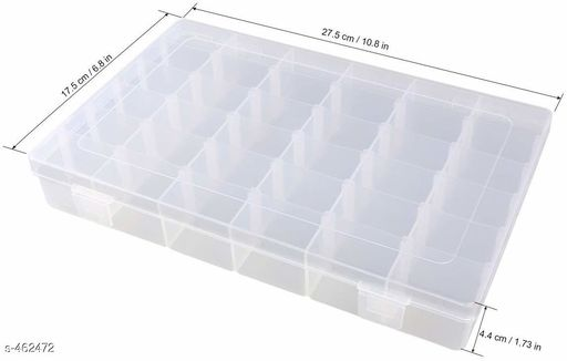 36 Partition Jewellery Box