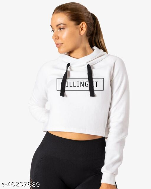 Classy Retro Women Sweatshirts