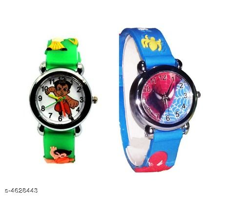 New Trendy Rubber Kid's Watches