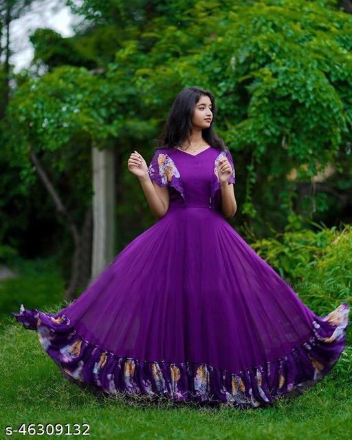 Trendy Modern Women Gown