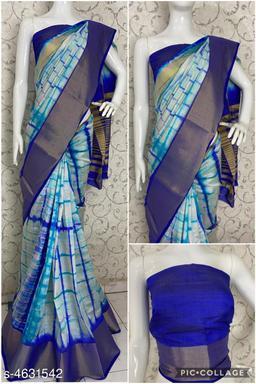 Tussar silk Women's Saree