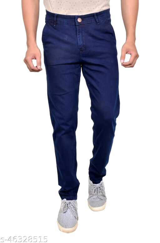 Elysian Slimfit Strechable  Casual Jeans Pack Of 1 For Men