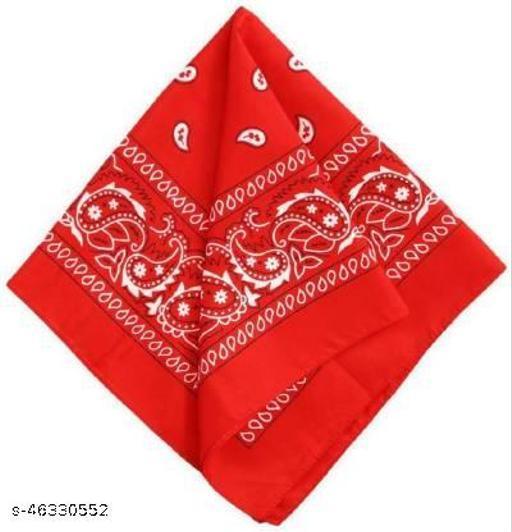 new bandana fancey rumaal red
