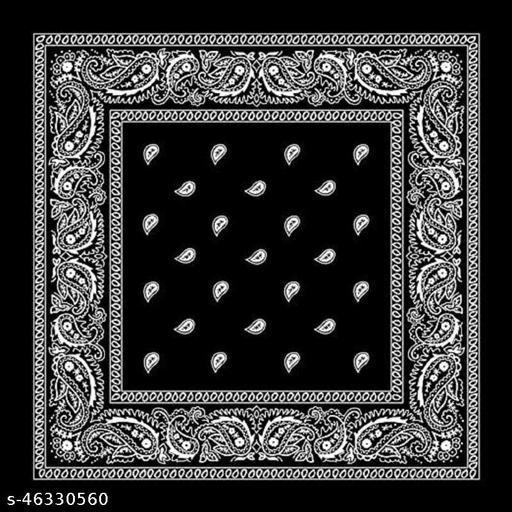 new bandana fancey rumaal black