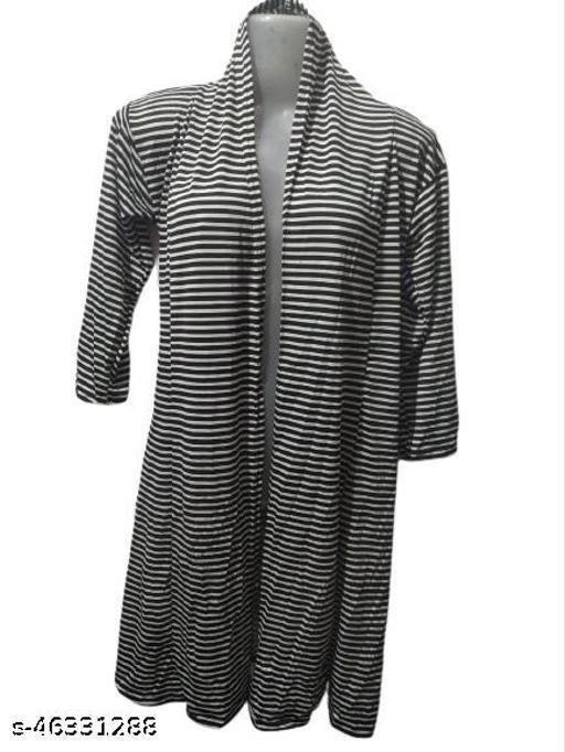 Joffre Ladies Lycra Shrug with Back Designer Cut