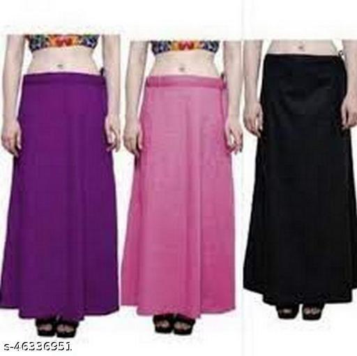 KAVYA DESIGNERS Petticoats Pack of 3