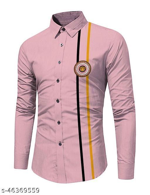 peflin Men's Shirt Unstitched Pure Cotton Digital Printed Shirt Fabric (2.25 Meter, Multicolor)