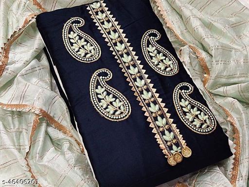 Exclusive Dress Material Suit  For Women Nevy Blue Color ds04