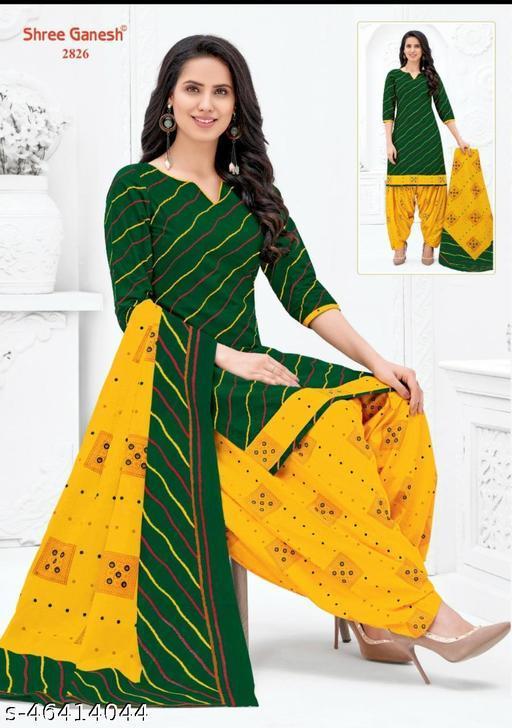 Trendy Pihu Cotton Patiala Suits