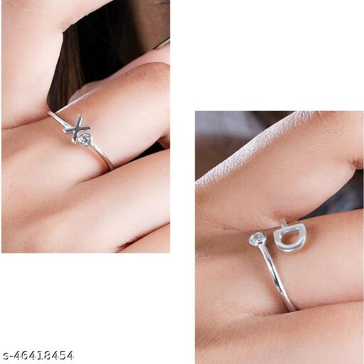 ThunderLook Adjustable Silver Ring