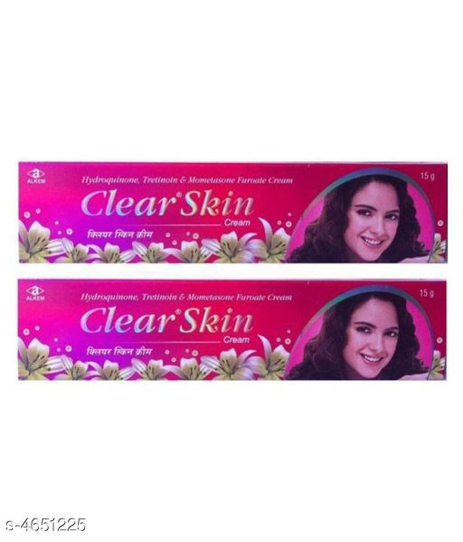 Face clearwin cream pack of 1   *Product Name* Clearwin Lightening Clear Scars & No Marks Cream  *Brand Name * Clearwin  *Product Type* Cream  *Capacity* 15 gm Each  *Package Contains* It Has 1 Pack Of Cream  *Sizes Available* Free Size *    Catalog Name:  Clearwin Lightening Clear Scars & No Marks Cream  CatalogID_674731 C52-SC1251 Code: 851-4651225-002