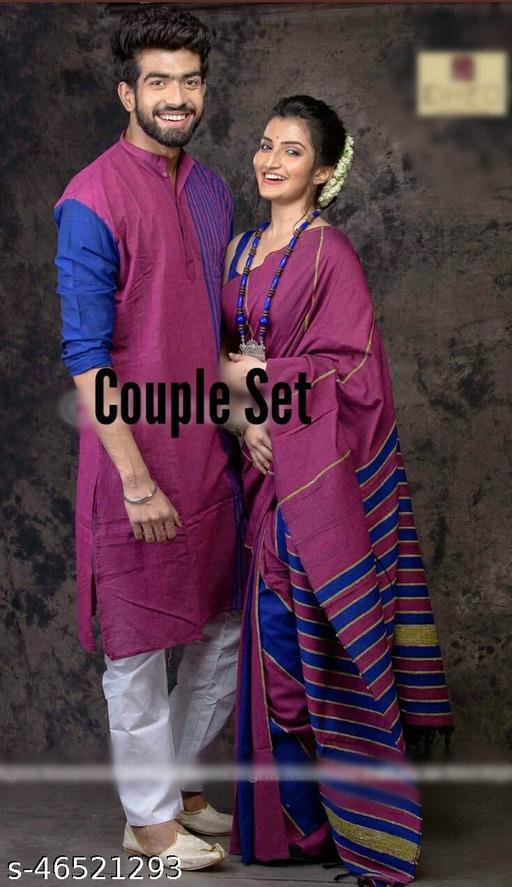 Trendy  Combo of Kurtas  with Saree