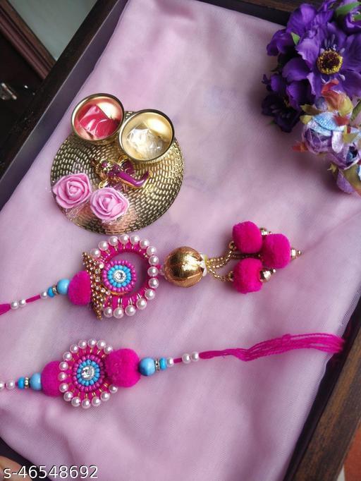 Allure Colorful Rakhi