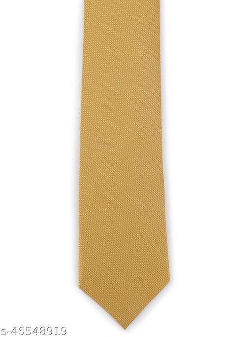 Calvadoss Premium Solid Self Design broad Tie